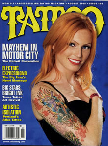 tattoo magazine austin Tattoo Artist Chris Gunn